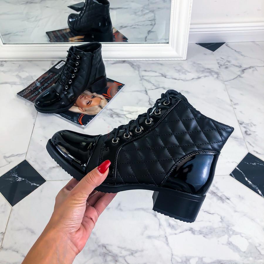 Čierne nízke čižmy-219932-31