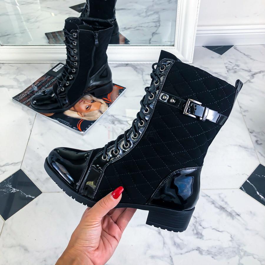 Čierne nízke čižmy-219918-36