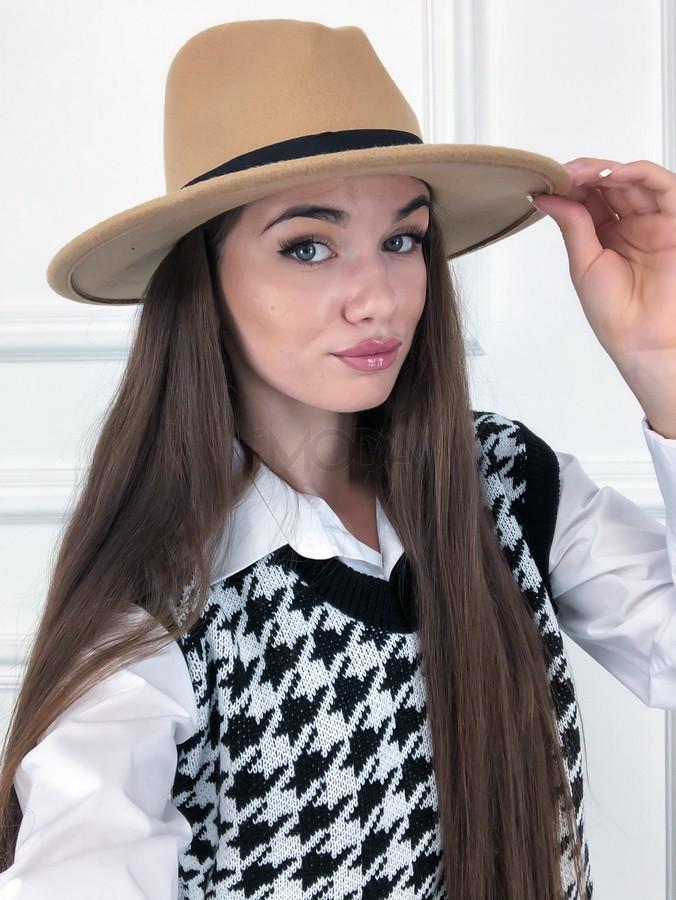 Hnedý dámsky klobúk-225249-31