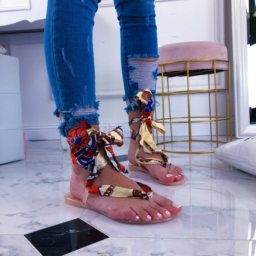 Béžové dámske sandálky-209789-34