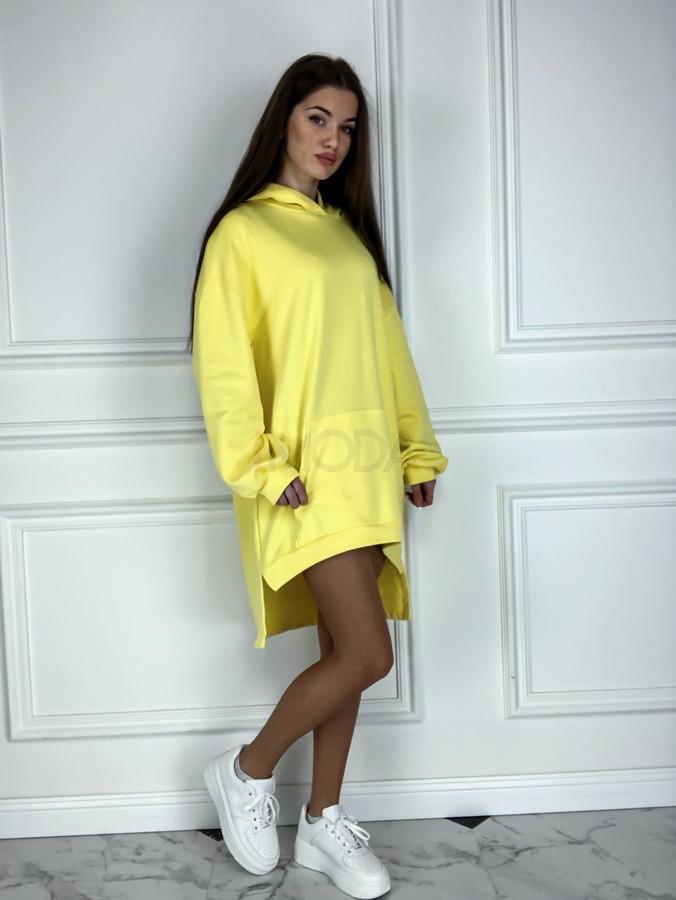 Žlté oversize šaty-225823-34