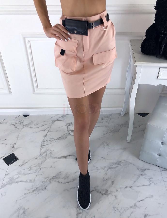 Dámska ružová sukňa-203259-34