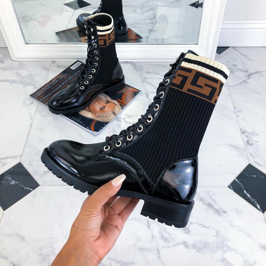 Čierne nízke čižmičky-217311-31