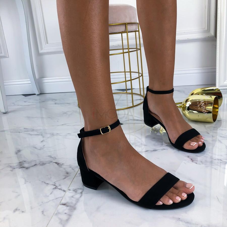 Čierne sandále-213329-32