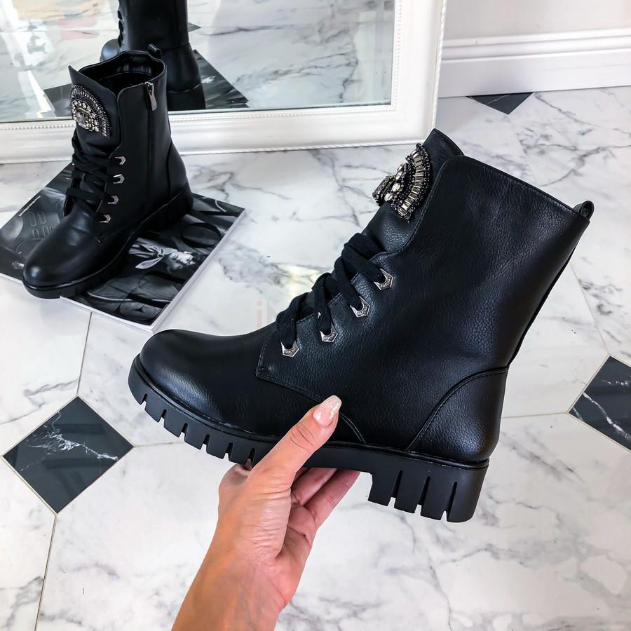 Čierne nízke čižmy-224037-32