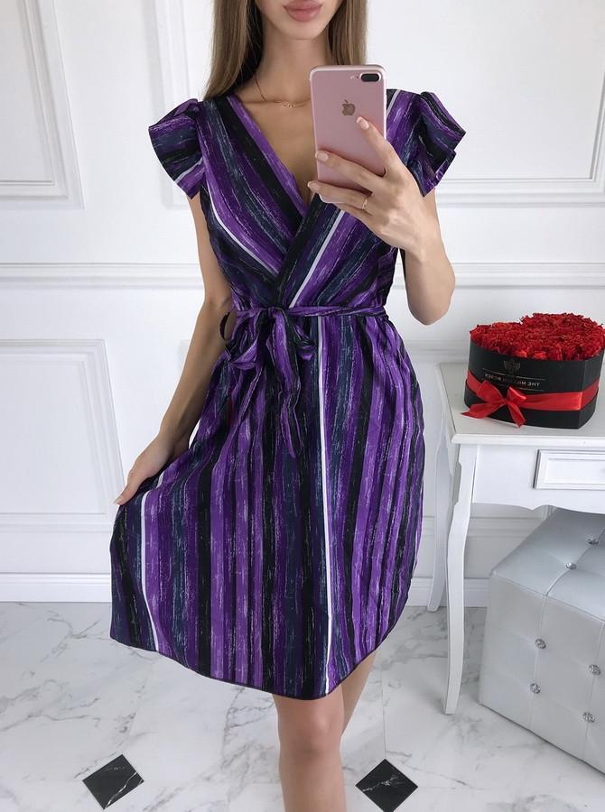 Dámske purpurové šaty-210521-31