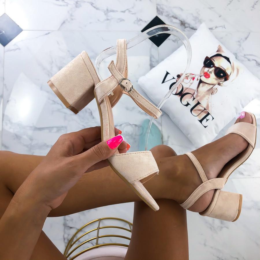 Béžové dámske sandále-213958-32