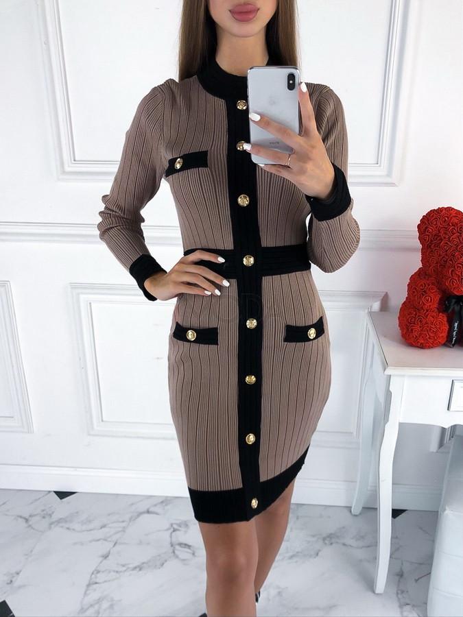 Hnedé šaty-219674-38