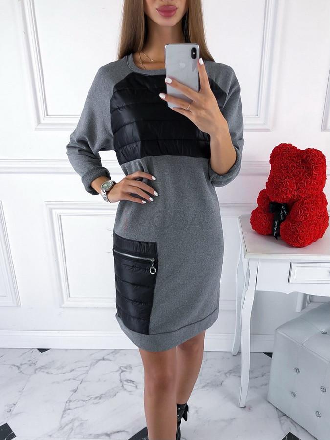 Sivé oversize šaty-220070-33