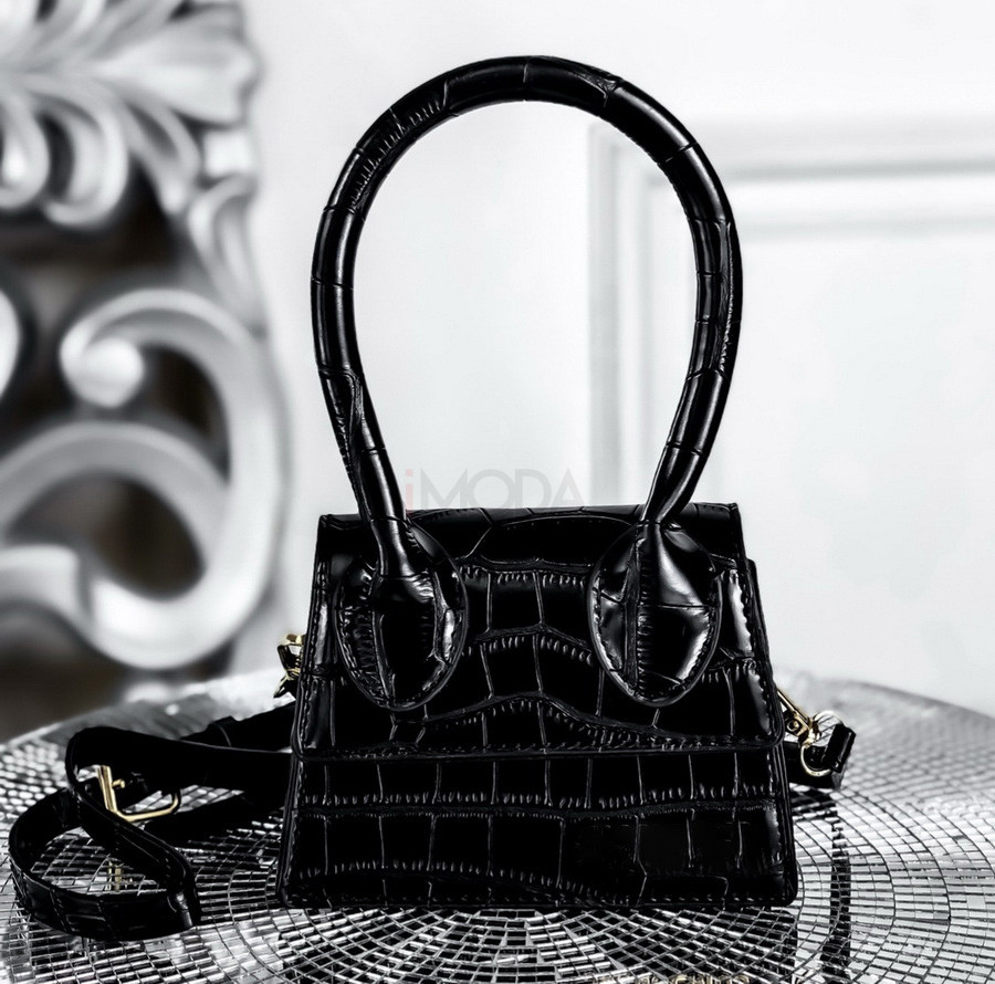 Čierna mini kabelka-225395-36