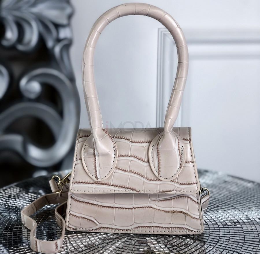 Béžová mini kabelka-225396-38