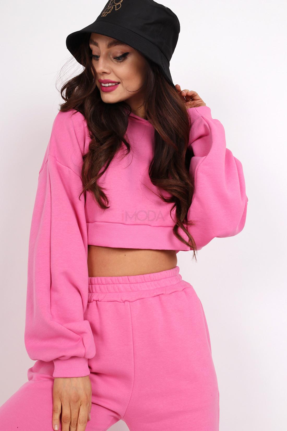 Ružová trendy mikina-236567-31
