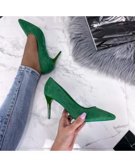 Zelené   lodičky
