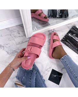 Ružové trendy šľapky