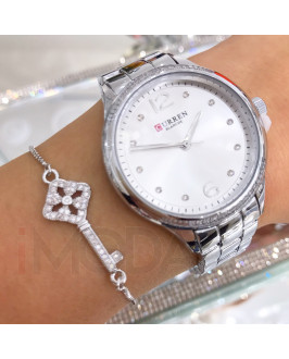 Dámske kovové hodinky