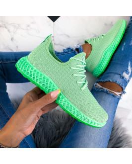 Zelené dámske tenisky