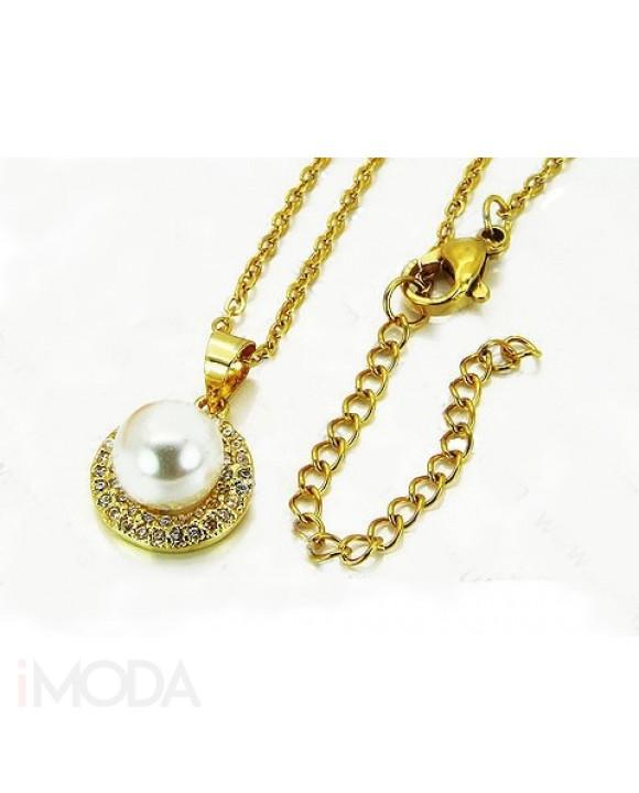 Dámsky pozlátený náhrdelník-205586-20