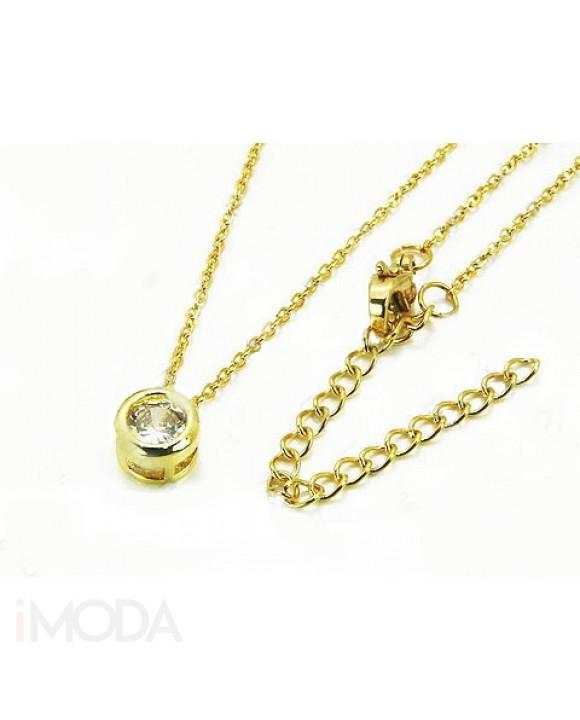 Dámsky pozlátený náhrdelník-205585-20