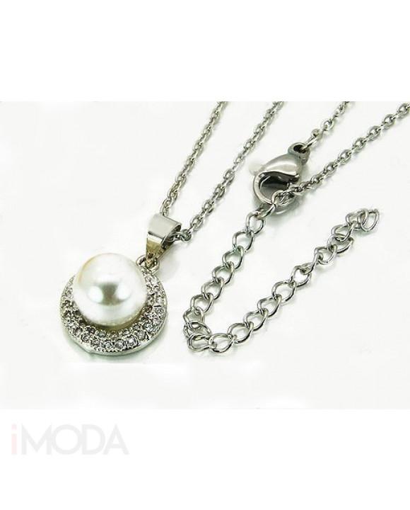 Dámsky oceľový náhrdelník-205597-20