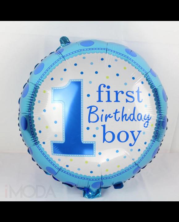 Modrý balón 1 narodeniny