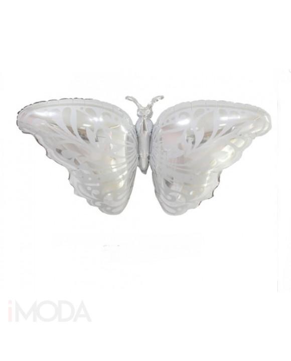 Strieborný balón motýľ