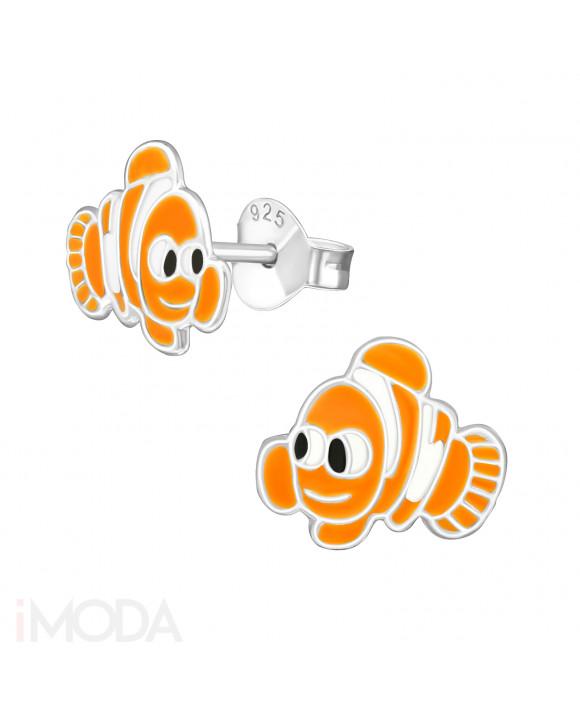 Detské strieborné náušnice Nemo-201963-20