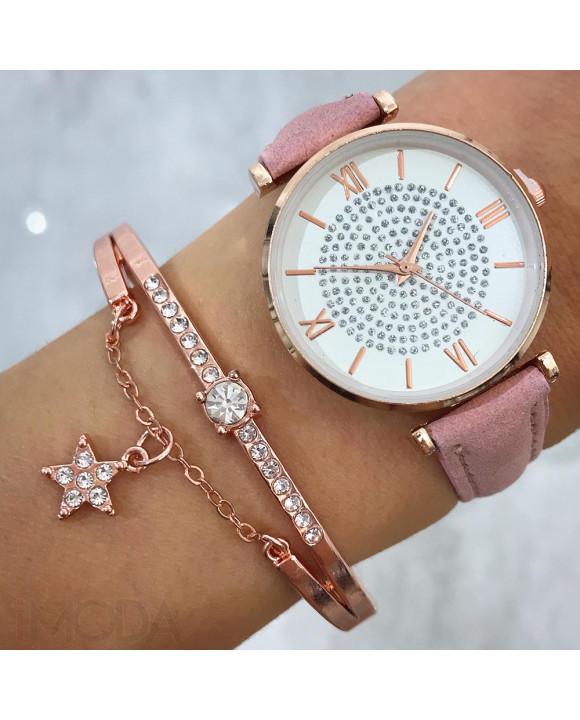 Dámske hodinky+ bižu náramok-212059-20