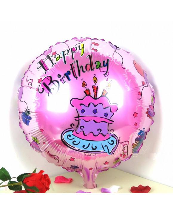 Ružový balón Happy birthday-211680-20
