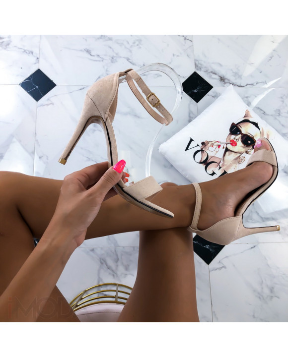 Béžové elegantné sandálky-215041-20