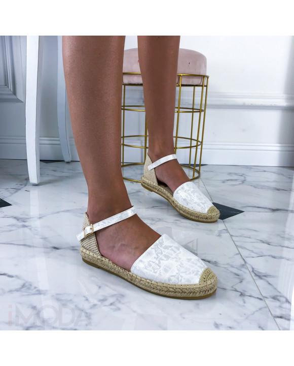 Biele dámske sandále-212733-20