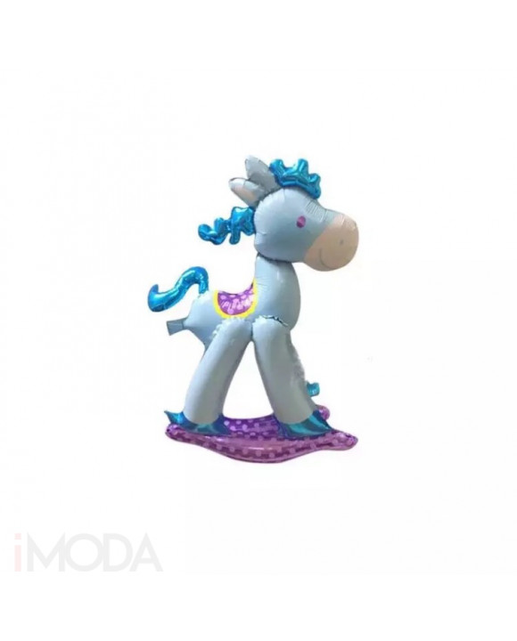 Balón modrý koník-210660-20