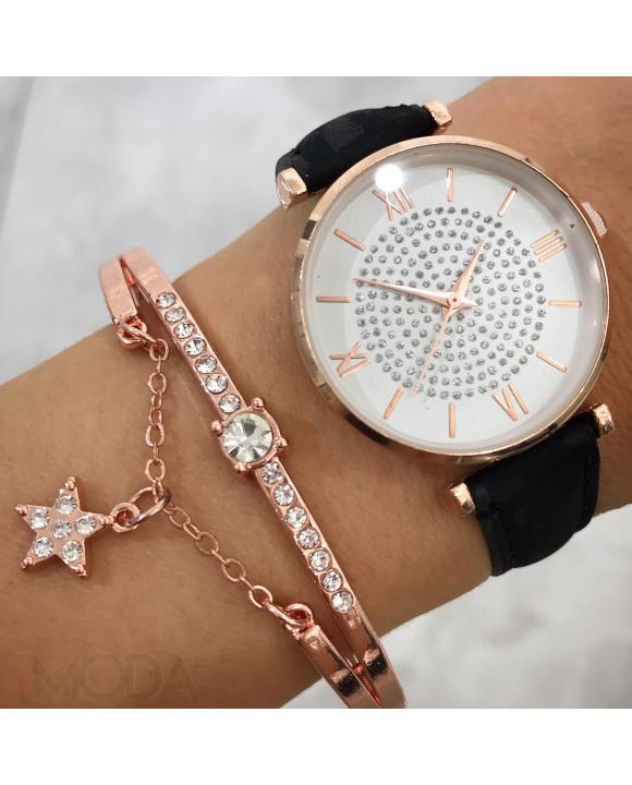 Dámske hodinky+ bižu náramok-212029-20