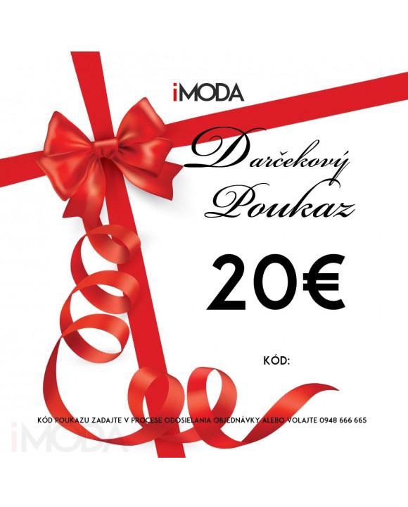 Darčekový poukaz 20€