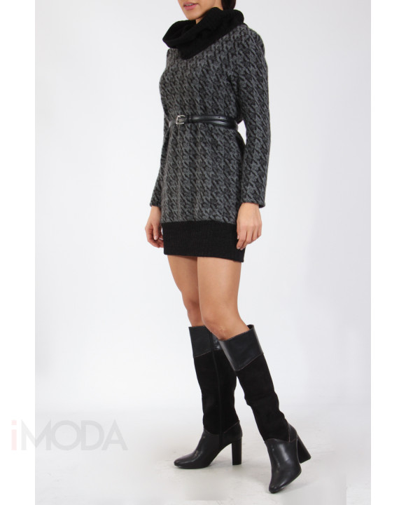 Čierno sivý sveter-217335-20