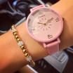 Dámske ružové hodinky