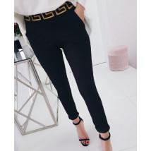 Čierne štýlové nohavice-228035-01