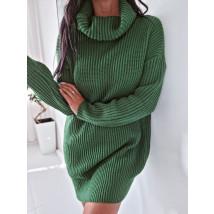Zelený oversize sveter-255930-04