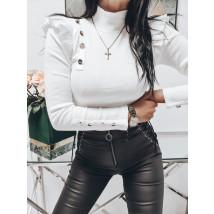 Biele bavlnené tričko-224368-01