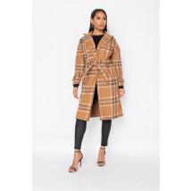 Camelový prechodný kabát-225818-03