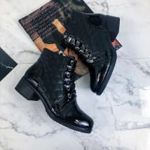 Čierne nízke čižmy-219932-01