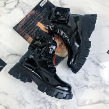 Čierne nízke čižmy s kapsičkou-219939-06