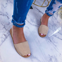 Béžové sandálky-209598-01