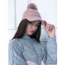 Ružová čiapka so šiltom-225248-03