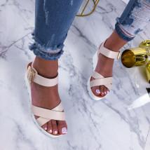 Béžové sandálky na platforme-210316-03