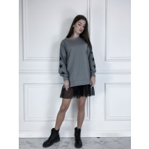 Sivé oversize šaty-225825-02