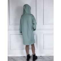 Mentolové oversize šaty-225824-06