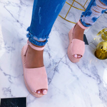 Ružové dámske sandále-210894-04