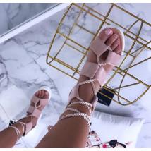 Ružové sandálky na platforme-205721-02
