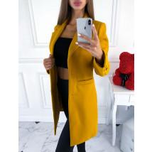 Žltý prechodný kabát-217425-05