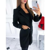 Čierny prechodný kabát-217451-026